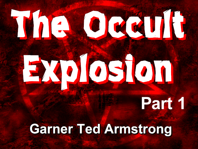 The Occult Explosion - Part 1