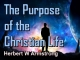 The Purpose of the Christian Life