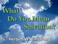 Listen to What Do You Mean Salvation?