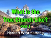 Listen to What is the True Church Like? Part 1