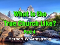 Listen to What is the True Church Like? Part 4