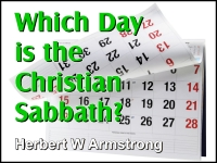 Listen to Which Day is the Christian Sabbath?