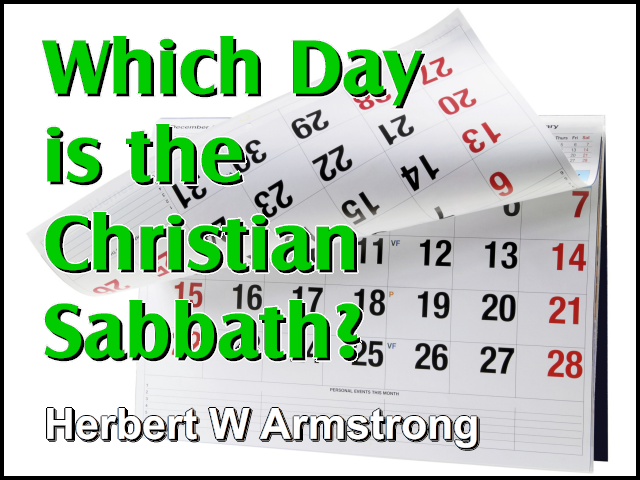 Which Day is the Christian Sabbath?