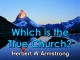 Which is the True Church?