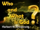 Who and What Is God? - Part 1