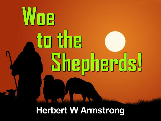 Woe to the Shepherds!
