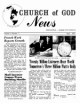 Church of God News - Church of God News April 1962 Headlines