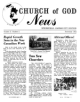 Church of God News - Church of God News November 1962 Headlines