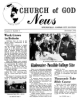 Church of God News - Church of God News December 1962 Headlines