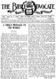 The Bible Advocate - Bible Advocate - October 23, 1928