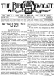 The Bible Advocate - Bible Advocate - October 30, 1928