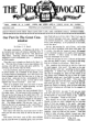 The Bible Advocate - Bible Advocate - November 6, 1928