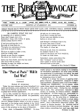 The Bible Advocate - Bible Advocate - November 13, 1928