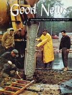 MAKE Your Bible Study INTERESTING! Good News Magazine January-February 1970 Volume: Vol XIX, No. 1-2