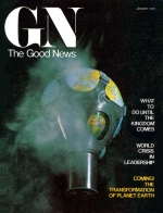 Coming! The Transformation of Planet Earth Good News Magazine January 1975 Volume: Vol XXIV, No. 1