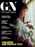 Children Are People Too! Good News Magazine January 1976 Volume: Vol XXV, No. 1