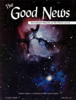 Christ's Return Will Bring World Peace - Final Installment Good News Magazine February 1964 Volume: Vol XIII, No. 2