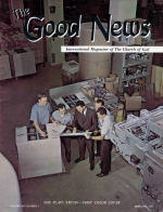 HOW TO OVERCOME The LAODICEAN Attitude Good News Magazine February 1965 Volume: Vol XIV, No. 2