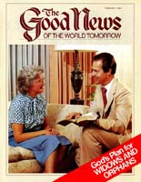 Do You Understand God's Plan for Widows and Orphans? Good News Magazine February 1984 Volume: VOL. XXXI, NO. 2