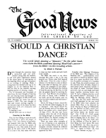 Is JUDAISM the Law of Moses? - Part 14 Good News Magazine March 1962 Volume: Vol XI, No. 3