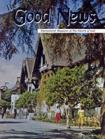 Maybe You Can Help! Good News Magazine March 1964 Volume: Vol XIII, No. 3