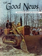 Dr. Benjamin L. Rea 1922-1965 Good News Magazine March 1965 Volume: Vol XIV, No. 3