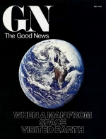 When a Man From Space Visited Earth... - Part 2 Good News Magazine May 1976 Volume: Vol XXV, No. 5