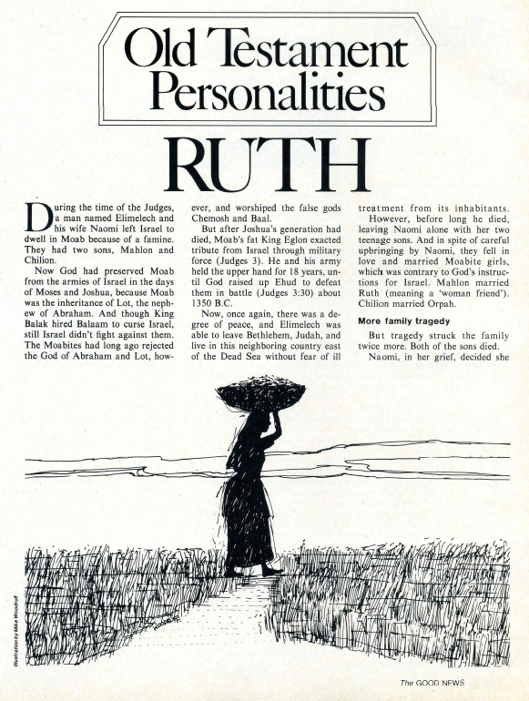 Old Testament Personalities: RUTH