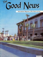 Church of God News - Worldwide Good News Magazine June-July 1966 Volume: Vol XV, No. 6-7