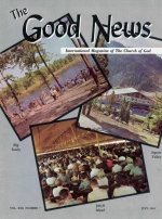 Just What Is THE HOLY SPIRIT? Good News Magazine July 1964 Volume: Vol XIII, No. 7