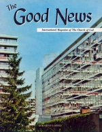 We Are In GENEVA - To Stay! Good News Magazine August 1965 Volume: Vol XIV, No. 8