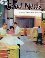 John's Gospel - Written for US Good News Magazine August 1966 Volume: Vol XV, No. 8