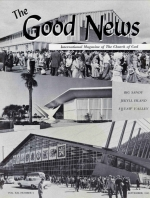 CHURCH NEWS Summer Growth - New School Year Begins Good News Magazine September 1963 Volume: Vol XII, No. 9