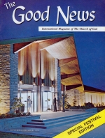 The Tithe of The Tithe Good News Magazine September-October 1971 Volume: Vol XX, No. 5