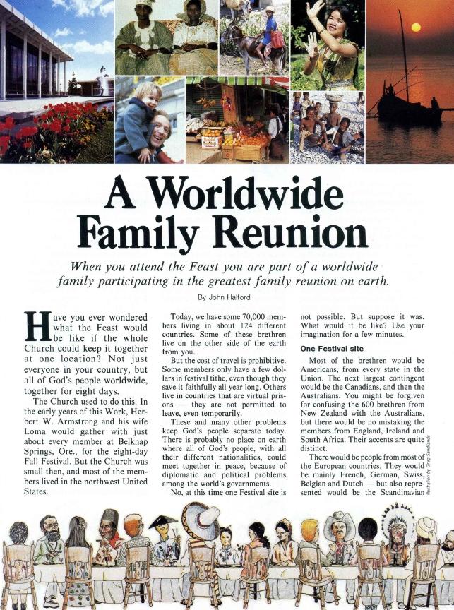 A Worldwide Family Reunion