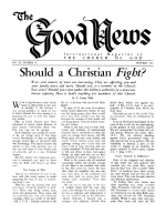 How CONVERTED Are You? Good News Magazine October 1960 Volume: Vol IX, No. 10
