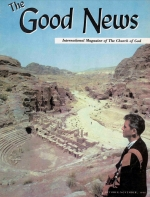We Fled Petra! Good News Magazine October-November 1966 Volume: Vol XV, No. 10-11