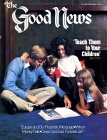 Creating God in Our Image Good News Magazine October-November 1979 Volume: Vol XXVI, No. 9 Issue: ISSN 0432-0816