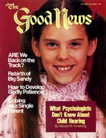 How to Develop Godly Patience Good News Magazine October-November 1981 Volume: Vol XXVIII, No. 9 Issue: ISSN 0432-0816
