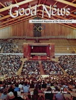 The 1969 Feast of Tabernacles Good News Magazine November-December 1969 Volume: Vol XVIII, No. 11-12