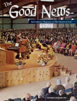 SPIRITUAL PITFALLS How YOU Can AVOID Them Good News Magazine November-December 1970 Volume: Vol XIX, No. 5