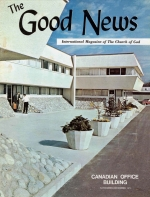 Answers To Your Questions About The Foreign Work Good News Magazine November-December 1971 Volume: Vol XX, No. 6