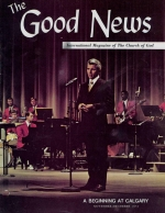 Answers to Your Questions About the Foreign Work Good News Magazine November-December 1972 Volume: Vol XXI, No. 7