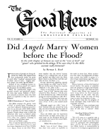 Today's Troubled Europe Good News Magazine December 1952 Volume: Vol II, No. 12