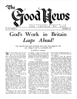 Is JUDAISM the Religion of Moses? - Part 1 Good News Magazine December 1960 Volume: Vol IX, No. 12