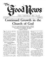 Is JUDAISM the Law of Moses? - Part 12 Good News Magazine December 1961 Volume: Vol X, No. 12
