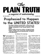 The Bible Answers Short Questions From Our Readers Plain Truth Magazine January 1954 Volume: Vol XIX, No.1 Issue: