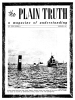 Heart to Heart Talk with the Editor Plain Truth Magazine January 1957 Volume: Vol XXII, No.1 Issue:
