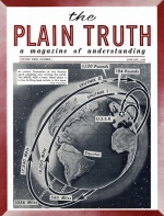 One in Twenty to Lose Jobs in 1958? Plain Truth Magazine January 1958 Volume: Vol XXIII, No.1 Issue: