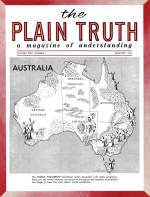 The Autobiography of Herbert W Armstrong - Installment 24 Plain Truth Magazine January 1960 Volume: Vol XXV, No.1 Issue:
